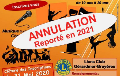 ANNULATION affiche casting 2020