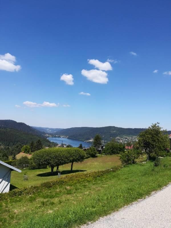 Mauselaine vue lac Gérardmer