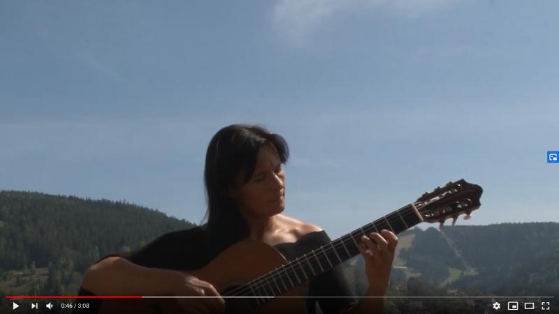 Valseana (Sergio Assad) - Christine Petit-D'Heilly - guitare