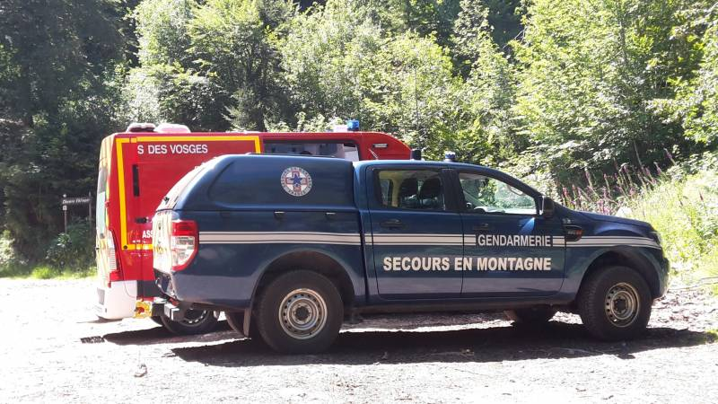 PGM : 2 vététistes chutent au Collet de la Mine