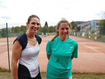 Stéphanie Dussaux et Estelle Germain se sont affrontées en demi-finale.