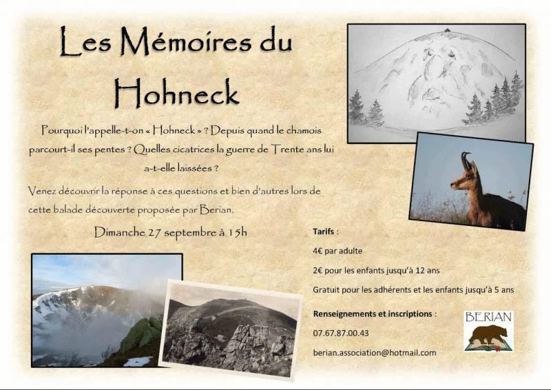 Vosges – A la découverte des secrets du Hohneck avec l'association BERIAN