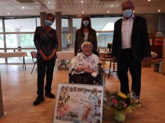 Suzanne grandmougin 100 ans (2)
