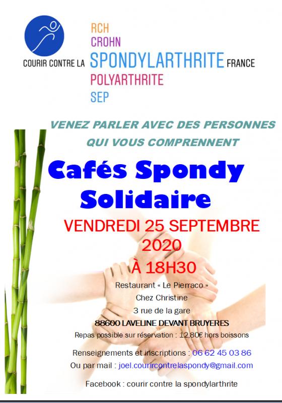 cafe spondy 25 septembre 2020