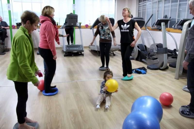 gym ballon