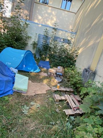 Des squatters sachant squatter