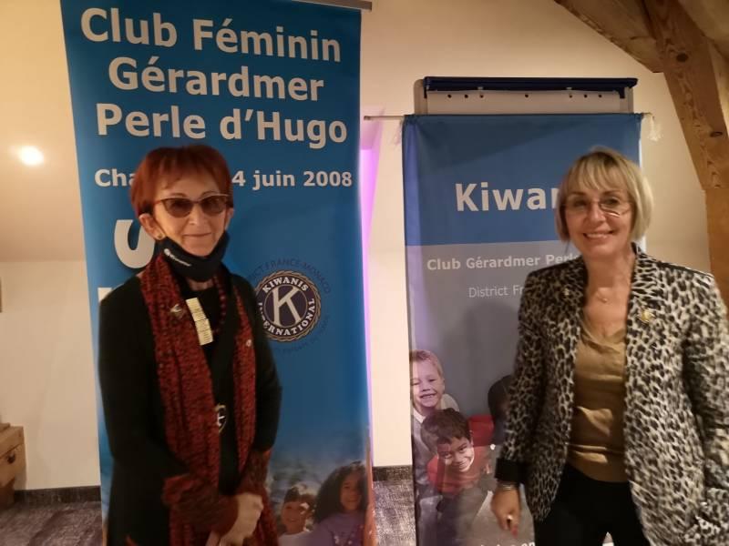 Annie Teissier et Martine Thouvenot