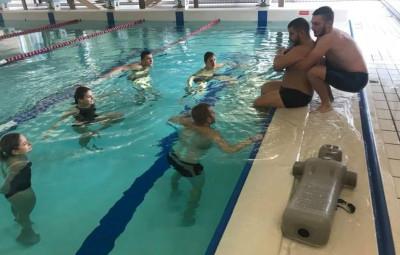 Direction La Bresse pour les exercices et animations en piscine !