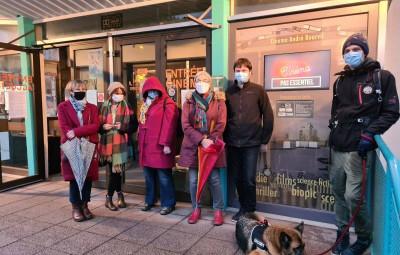 ciné MCL covid fermeture protestation