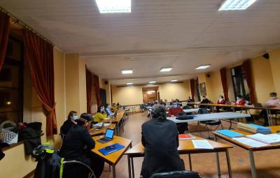 salle du conseil unicipal Gérardmer dec 2020