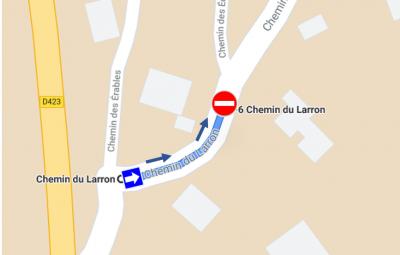 Chemin Larron