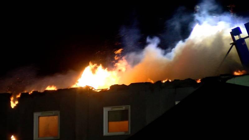 La vidéo de l'incendie de l'hôtel Ibis-Budget d'Épinal
