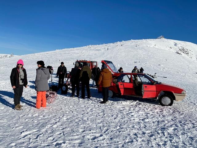 SOS massif des Vosges tournage