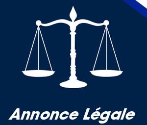 annonce legale article