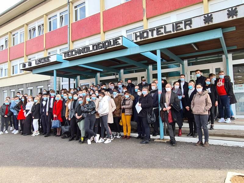 manif BTS lycée Chardin (1)