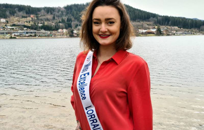 Gwenaelle Didier Miss excellence Lorraine bord du lac Gérardmer