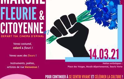 Marche fleurie 140321