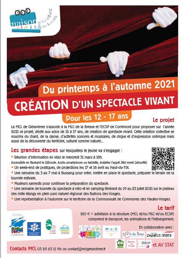 com' création spectacle mlc ecsp mcl 2021