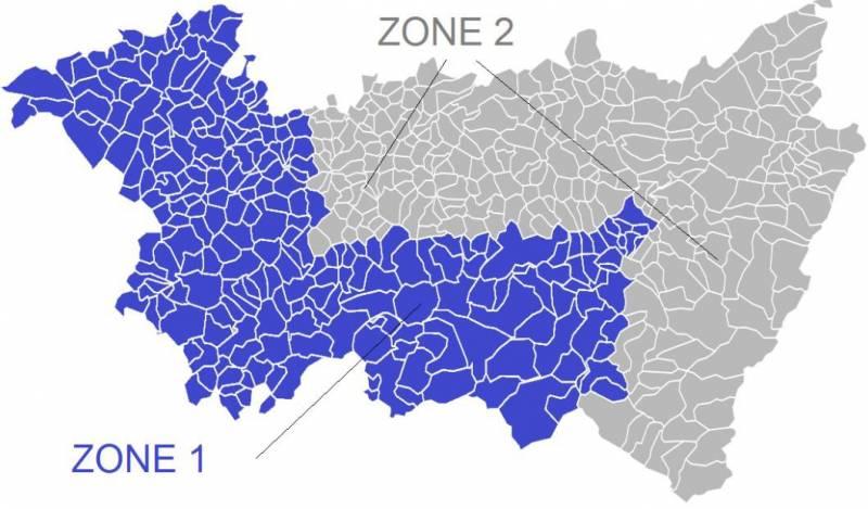 zones sécheresse