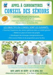 Affiche Conseil Seniors