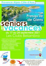 Seniors2021_Presquîle Giens_affiche