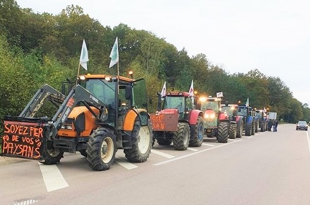 Photo d'archives, par les Jeunes Agriculteurs Lamarche
