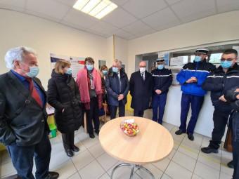 Gendarmerie Gérardmer prefet visite (1)