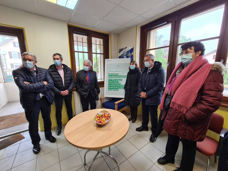 Gendarmerie Gérardmer prefet visite (2)