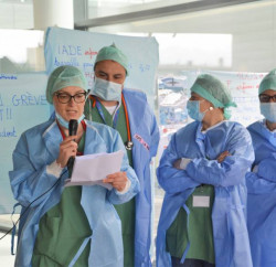 greves anesthesistes