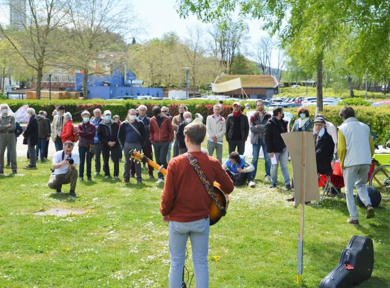 Vosges : ils s'opposent à la construction du stade d'eaux vives au port d'Epinal