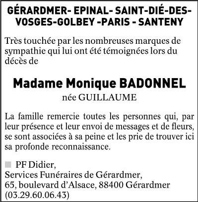 REMERCIEMENTS BADONNEL LM