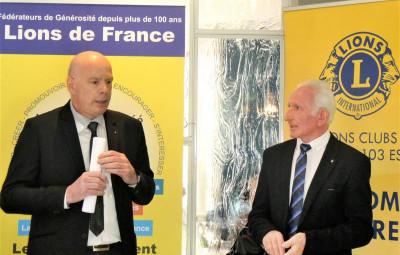 Eric Petigenet (à gauche sur la photo) & Bernard Masson
