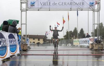 Romain Loustaunau, vainqueur de la course des Ballons Vosgiens – 163km