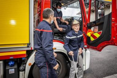 René Viry 100 ans pompiers gérardmer (2)