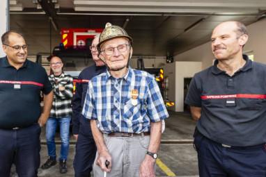 René Viry 100 ans pompiers gérardmer (5)
