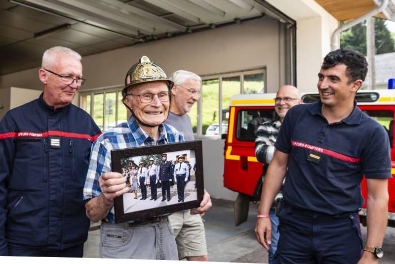 René Viry 100 ans pompiers gérardmer (7)