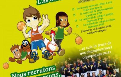 rentrée Asg handball