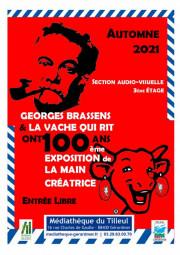 affiche Brassens et Vache qui Rit