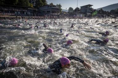 depart triathlon XL Gérardmer (2)