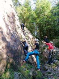 escalade roche club alpin Gérardmer (1)