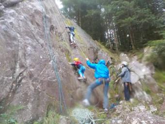 escalade roche club alpin Gérardmer (2)
