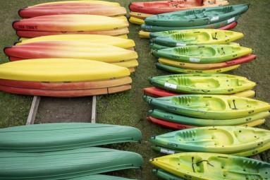 canoë-kayak sur le lac de Gérardmer