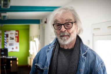 L'écrivain Pierre Pelot