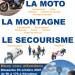 protection civile action moto montagne