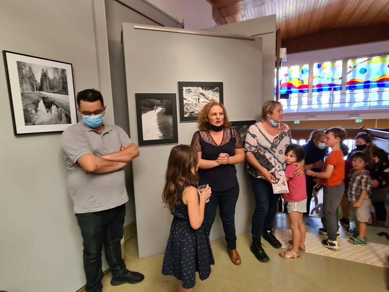 Ludivine Colomb et Anne Chwalszewski ont officiellement lancé la Saison Culturelle de la Ville.