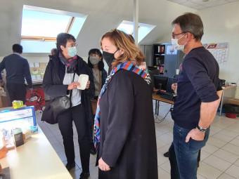 CFA papetier visite C. Dabrigeon
