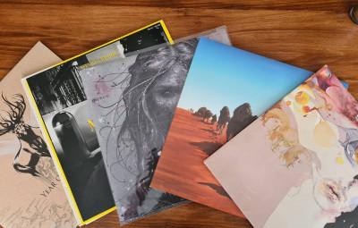 disques vinyles brocante bourse