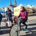 Une animation sur le marché de Gérardmer, la Ville ayant grâcieusement mis à disposition le mobilier et  l'emplacement.